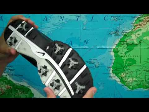 4bb8ed74d07811 Nike Air Tour Sport Men s Leather Golf Shoe Review - YouTube