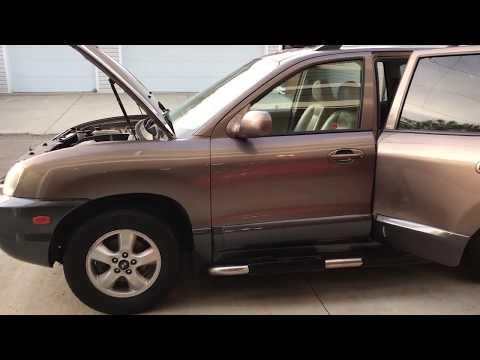 2005 Hyundai Santa Fe Fuel Pump