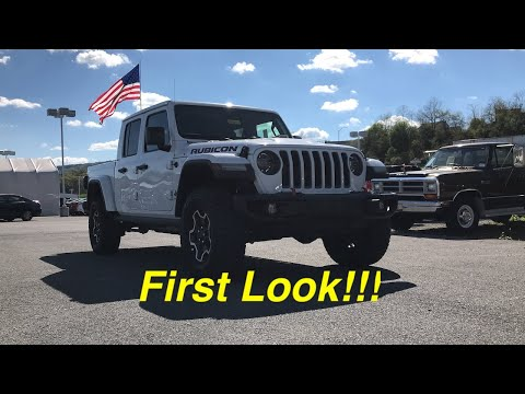 2020 Jeep Gladiator Rubicon - First Look!!! Does It Deliver?!?!?!?!?