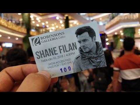 Shane Filan Live at Robinsons Galleria Cebu Philippines