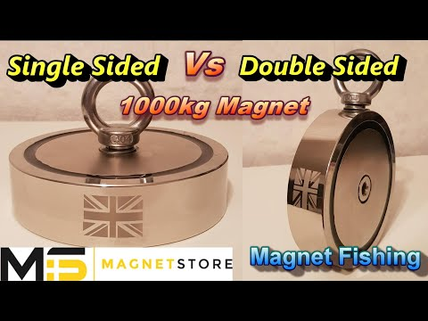 Single Sided Or Double Sided, Testing My 1000KG Magnet, Magnet Fishing