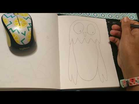 josey's-art-school-day-22-how-to-draw-an-owl-easy-drawing-lessons