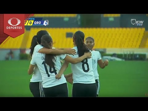 Resumen Tigres 7 - 0 Querétaro   Liga MX Femenil – J11   Televisa Deportes