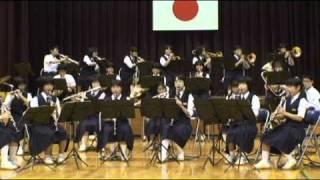 大洲南中吹奏楽部2010年秋のコンサートの演奏曲です。2010年N...