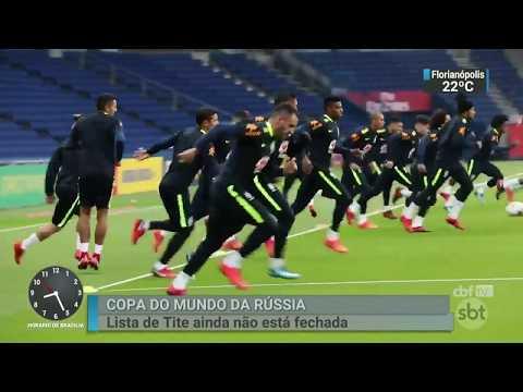 Nomes como Neto, Talisca e Willian José chamam atenção na lista de Tite | SBT Brasil (12/03/18)