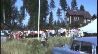 Räsäniemen leirin lipunlasku