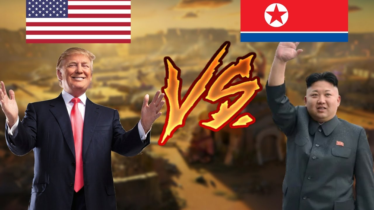 Image result for images of Trump vs Kim Jong Un