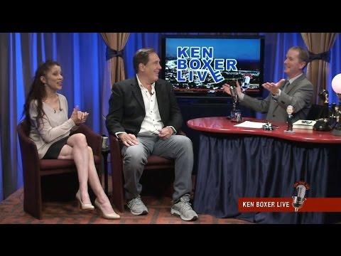 """Ken Boxer Live,"" Ken Caillat, Fleetwood Mac Studio Engineer, with Tai Babilonia"
