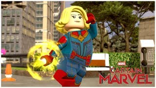 Captain Marvel (Captain Marvel/Avengers 4) - LEGO Marvel Superheroes 2 MOD