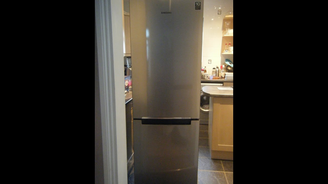 samsung rb29fsrndsa fridge freezer freestanding silver youtube. Black Bedroom Furniture Sets. Home Design Ideas