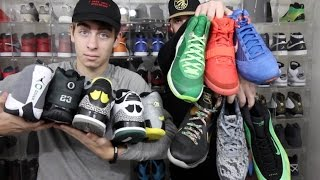 BEST SNEAKER COLLECTION AND DISPLAY ON YOUTUBE !! (**MUST-SEE**) GatesMarke