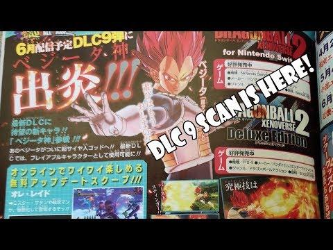 Xenoverse 2 SSG Vegeta DLC 9 Scan & SSJ4 Goku FighterZ Scan!
