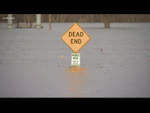 Flooding Hits Calhoun County, IL