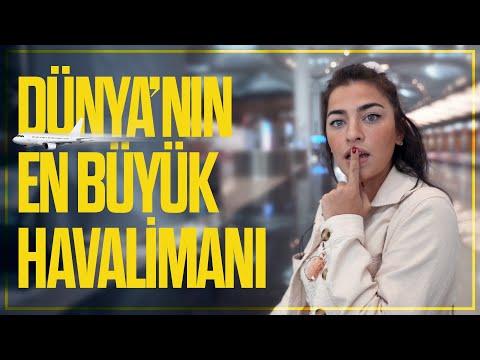 Dünya'nın En Büyük Havalimanını Gezdim / İstanbul Havalimanı
