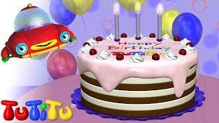 تو تي تو كعكة عيد ميلاد