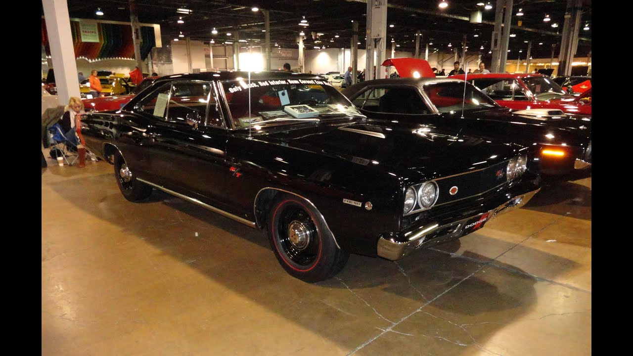 1968 Dodge Coronet R/T 426 Hemi with Black Paint & Red Interior - My Car Story with Lou ...
