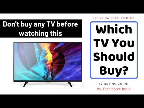 MUST WATCH: Everything You Need To Know Before Buying A TV | 2019