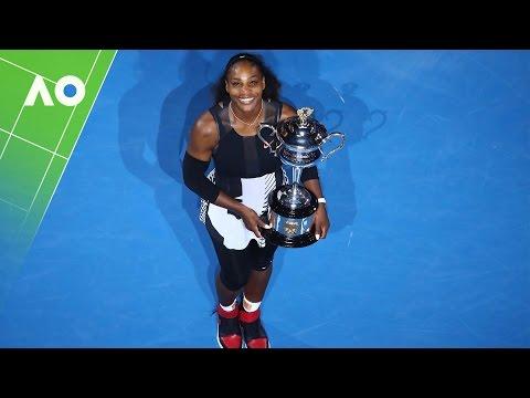 Serena Williams thanks sister Venus in victory speech | Australian Open 2017