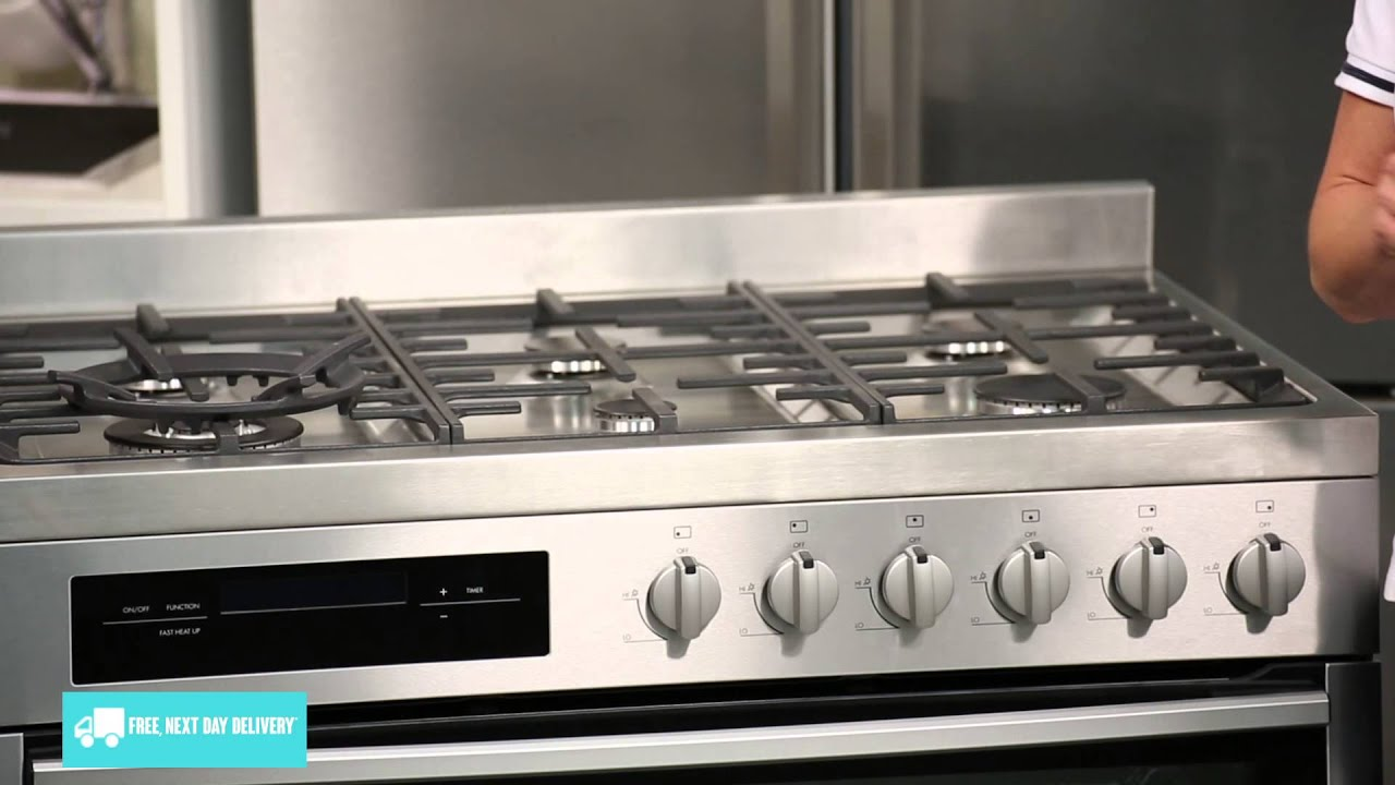Westinghouse Kitchen Appliances Westinghouse Wfe916sa Freestanding Dual Fuel Oven Stove Review