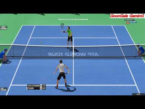 Kolschreiber vs Fognini | Moscow Kremlin Cup 2016 | 60 fps HD Tennis Elbow PC GamePlay