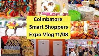 Shopping Vlog- Coimbatore Codissia Shoppers Expo 2018 | Available till Monday 13/08/2018