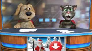 Talking Tom & Ben News sings call me maybe