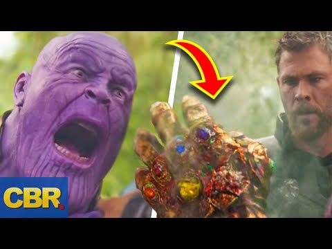 Heres How Marvels Thanos Could Still Use The Infinity Gauntlet After It Got Damaged