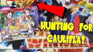 Caulifla Hunting! Dragon Ball Super Cross Worlds Booster Box Opening!
