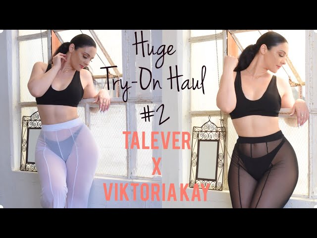 Huge Try-On Haul #2 For CyberMonday | TALEVER X VIKTORIA KAY