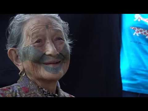 Interview with Atayal Taiwan Aborigine Woman About Facial Tattoo process by Tobie Openshaw