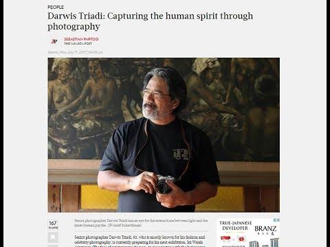 Behind the scene : Darwis Triadi ( Professional Photographer )