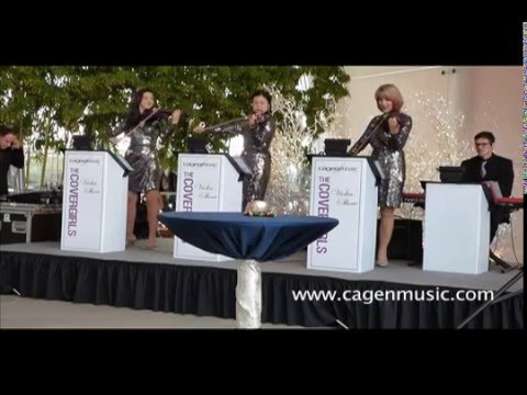 Cagen Music CoverGirls Violin Show play Come Sail Away