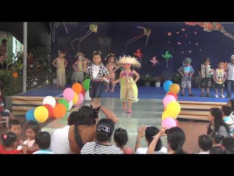 Trường MNTT Minh ĐứcBiểu diễn thời trang của các bé khối mầm năm học 2012 - 2013