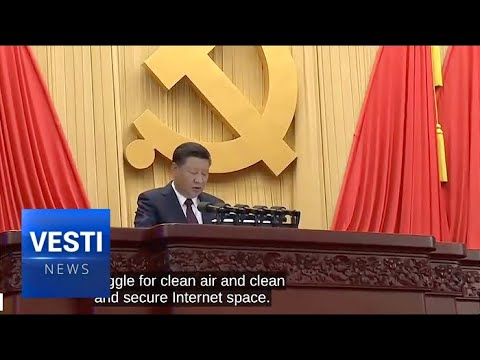 Сhairman Xi Reveals 'Chinese Dream' to Lead World by 2050 at Communist Party Congress
