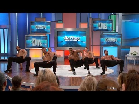 The Men from 'Thunder from Down Under' Perform!