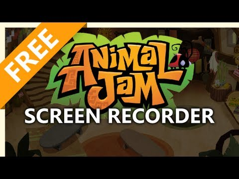 Capture and Record Animal Jam Gameplay