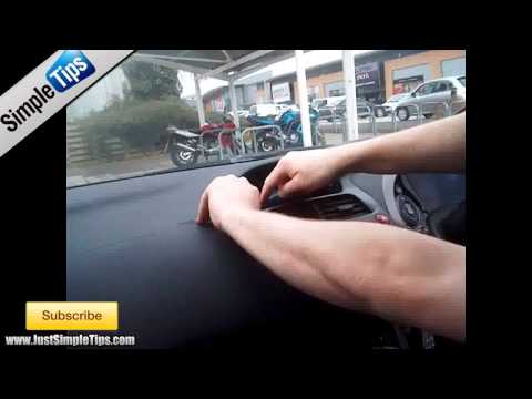 Radio Removal Honda Civic MK8 (2005-2011) | JustAudioTips