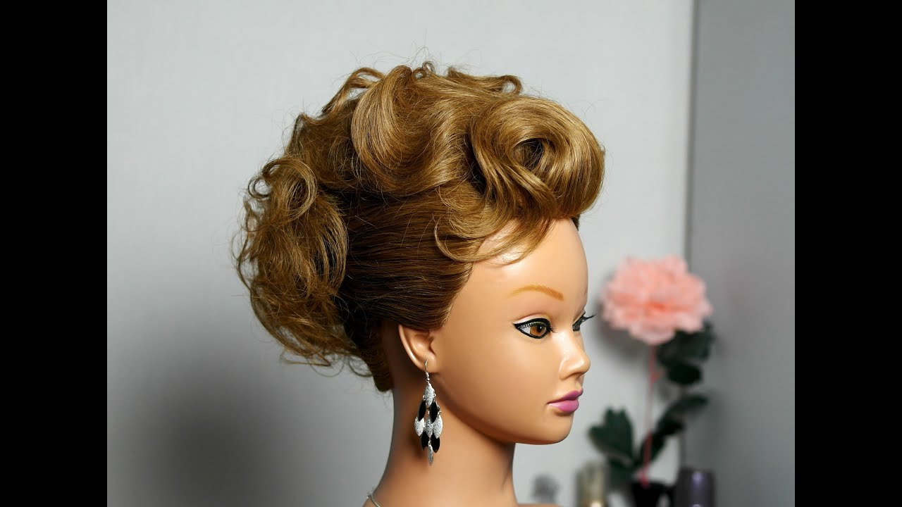 elegant hairstyle medium hair