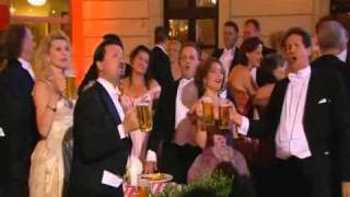 Andre Rieu - the student prince the platin tenors singing drink