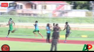Kirani James wins 400m at AP Invitational 2018 in Guyana