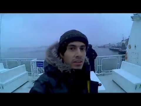 Navegando en la costa de Oslo....