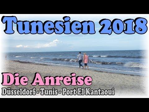 Tunesien Urlaub 2018 1/3 - Die Anreise | Düsseldorf - Tunis - Port El Kantaoui | LTI Bellevue Park