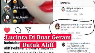 Lucinta Luna Dato Aliff Mau Duet Nyanyi Ibunda Dato Alif Sampai Komentar Begini.....