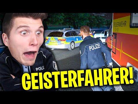 Geisterfahrer auf der AUTOBAHN! | Autobahn-Polizei Simulator