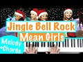 How To Play JINGLE BELL ROCK From Mean Girls Christmas Piano Tutorial mp3