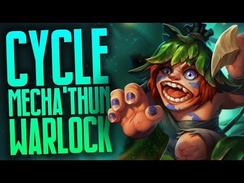 Cycle Anklebiter Mecha'thun Warlock | Rastakhan's Rumble | Hearthstone
