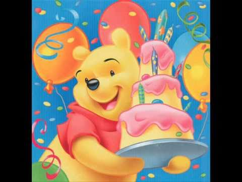 Happy Birthday To You By Winnie The Pooh Youtube