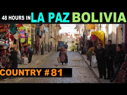 A Tourist's Guide to La Paz, Bolivia