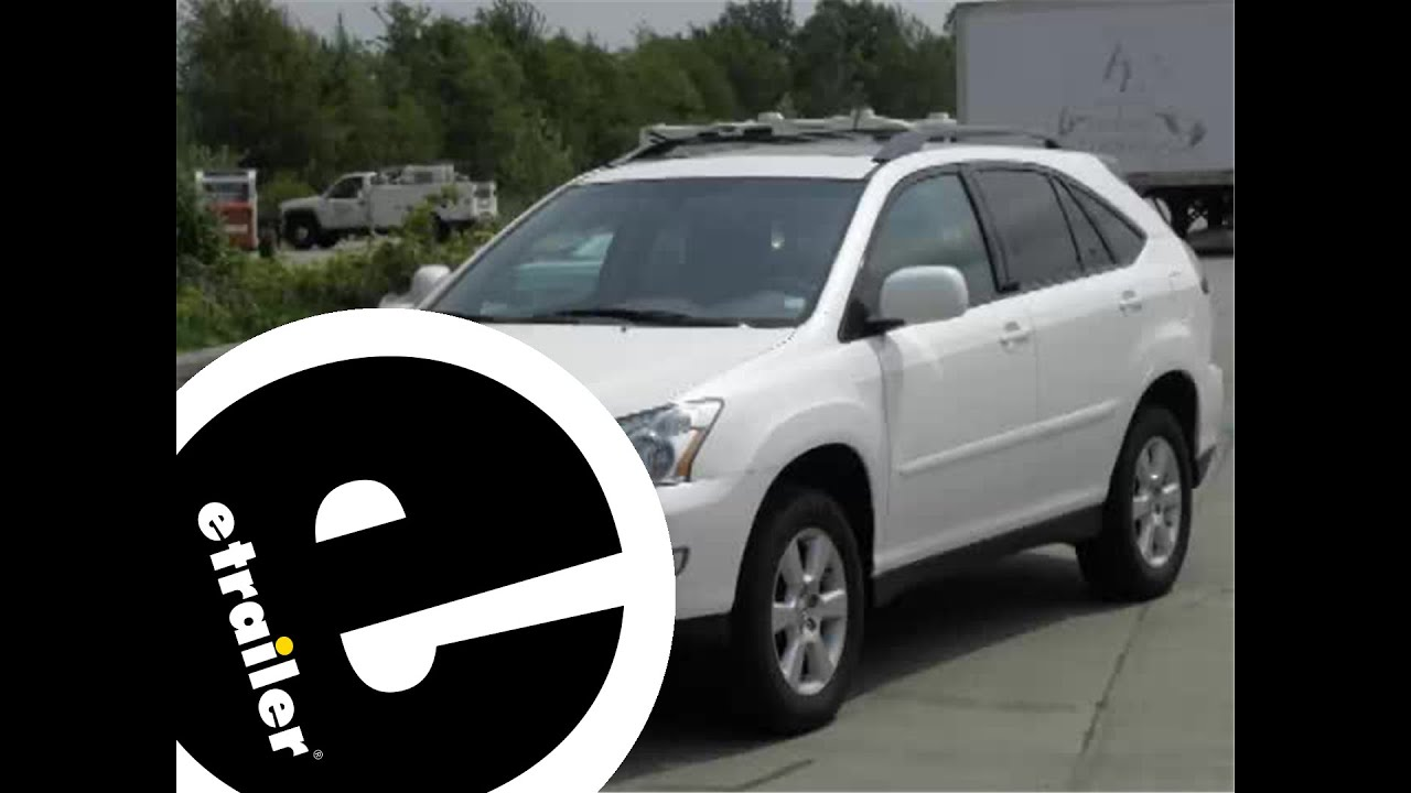 medium resolution of trailer wiring harness installation 2007 lexus rx 350 etrailer com