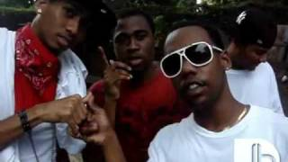 Vybz Kartel & Russian In Front Di Scenes {Jeans & Fitted}